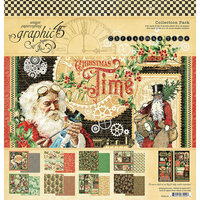 Graphic 45 - Christmas Time Collection - 12 x 12 Collections Pack