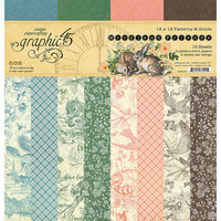 Graphic 45 - Woodland Friends Collection - 12 x 12 Patterned and Solids Paper Pack
