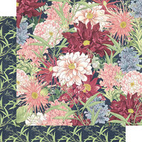 Graphic 45 - Blossom Collection - 12 x 12 Double Sided Paper - Blossom
