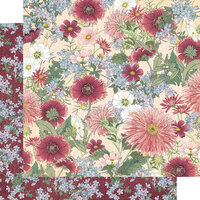 Graphic 45 - Blossom Collection - 12 x 12 Double Sided Paper - Flourish