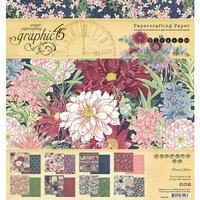 Graphic 45 - Blossom Collection - 8 x8 Paper Pad