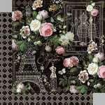 Graphic 45 - Elegance Collection - 12 x 12 Double Sided Paper - Elegance