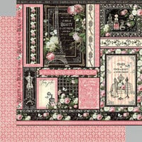 Graphic 45 - Elegance Collection - 12 x 12 Double Sided Paper - Delightful