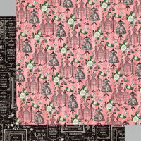 Graphic 45 - Elegance Collection - 12 x 12 Double Sided Paper - Enchanting