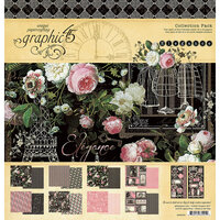 Graphic 45 - Elegance Collection - 12 x 12 Collection Pack