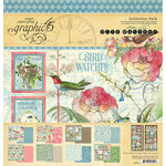 Graphic 45 - Bird Watcher Collection - 12 x 12 Collection Pack