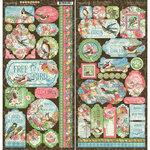 Graphic 45 - Bird Watcher Collection - Stickers