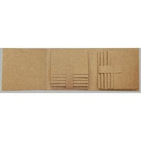 Graphic 45 - Staples Embellishments Collection - Trifold Waterfall Folio Album