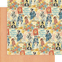 Graphic 45 - Well Groomed Collection - 12 x 12 Double Sided Paper - Best In Show