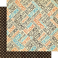 Graphic 45 - Well Groomed Collection - 12 x 12 Double Sided Paper - Atta Boy