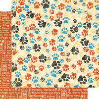Graphic 45 - Well Groomed Collection - 12 x 12 Double Sided Paper - Pawesome!