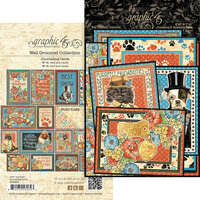 Graphic 45 - Well Groomed Collection - Journaling Cards