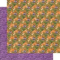 Graphic 45 - Midnight Tales Collection - Halloween - 12 x 12 Double Sided Paper - Magic In The Air
