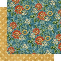 Graphic 45 - Come One, Come All! Collection - 12 x 12 Double Sided Paper - Floral Gala