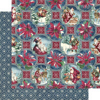 Graphic 45 - Let It Snow Collection - 12 x 12 Double Sided Paper - Christmas Dreams