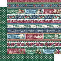 Graphic 45 - Let It Snow Collection - Christmas - 12 x 12 Double Sided Paper - Joyful Tidings