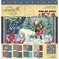 Graphic 45 - Let It Snow Collection - Christmas - 12 x 12 Collection Pack