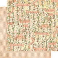 Graphic 45 - Alice's Tea Party Collection - 12 x 12 Double Sided Paper - Fanciful