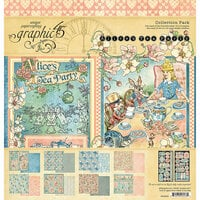 Graphic 45 - Alice's Tea Party Collection - 12 x 12 Collection Pack