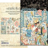 Graphic 45 - Alice's Tea Party Collection - Ephemera Assortment