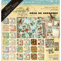 Graphic 45 - Time to Flourish Collection - 12 x 12 Deluxe Collector's Edition