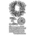 Graphic 45 - Hampton Art - Secret Garden Collection - Cling Mounted Rubber Stamps - Secret Garden Two