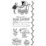 Graphic 45 - Hampton Art - Precious Memories Collection - Cling Mounted Rubber Stamps - Two