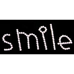 Glitz Design - Frosting Collection - Self-Adhesive Rhinestones - Frosting Pink Smile, CLEARANCE
