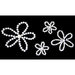 Glitz Design - Frosting Collection - Self-Adhesive Rhinestones - Frosting Flowers