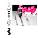 Glitz Design - Roller Doodles Collection - Roller Stamps - Arrows, CLEARANCE