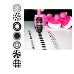 Glitz Design - Roller Doodles Collection - Roller Stamps - Polka Dots, CLEARANCE