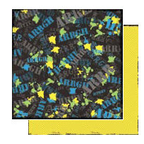 Glitz Design - Angst Collection - 12x12 Double Sided Paper - Argh, CLEARANCE
