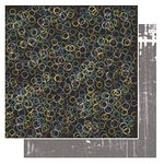 Glitz Design - Angst Collection - 12x12 Double Sided Paper - Circles, CLEARANCE
