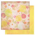 Glitz Design - Afternoon Muse Collection - 12 x 12 Double Sided Paper - Floral