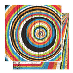Glitz Design - Basics Collection - 12x12 Double Sided Paper - Stripes, CLEARANCE