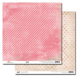 Glitz Design - Beautiful Dreamer Collection - 12 x 12 Double Sided Paper - Stripe