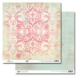 Glitz Design - Beautiful Dreamer Collection - 12 x 12 Double Sided Paper - Damask