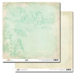 Glitz Design - Beautiful Dreamer Collection - 12 x 12 Double Sided Paper - Toile