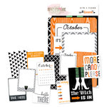 Glitz Design - Raven Collection - Halloween - Cardstock Pieces - Bits and Pieces