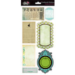 Glitz Design - Hoopla Collection - Cardstock Stickers - Journaling