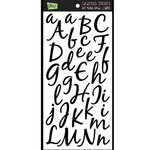 Glitz Design - Hot Mama Collection - Cardstock Stickers - Alphabet, BRAND NEW