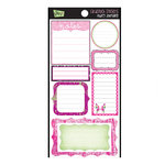 Glitz Design - Audrey Collection - Cardstock Stickers - Journaling