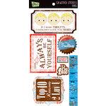 Glitz Design - Kismet Collection - Cardstock Stickers - Titles