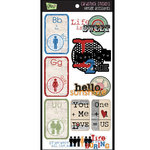 Glitz Design - Cardstock Stickers - Vintage Accessories, CLEARANCE