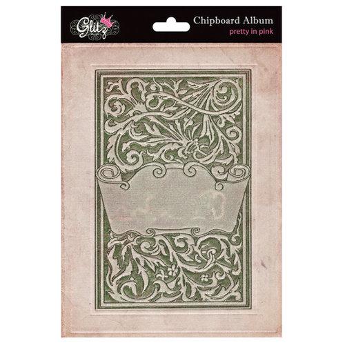 Glitz Design - Pretty in Pink Collection - Chipboard Album
