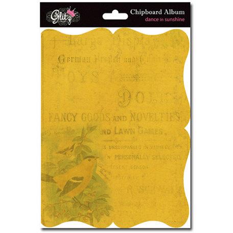 Glitz Design - Dance in Sunshine Collection - Chipboard Album