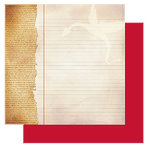 Glitz Design - Camelot Collection - 12x12 Double Sided Paper - Camelot Notepaper, CLEARANCE