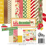 Glitz Design - Hello December Collection - Christmas - 12 x 12 Collection Pack