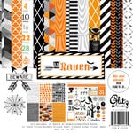 Glitz Design - Raven Collection - Halloween - 12 x 12 Collection Pack