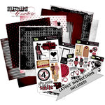 Glitz Design - Distressed Couture Collection - 12 x 12 Page Kit, BRAND NEW